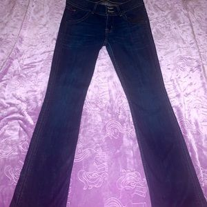 Hudson low rise bootcut  jeans. Size 26. Like new.